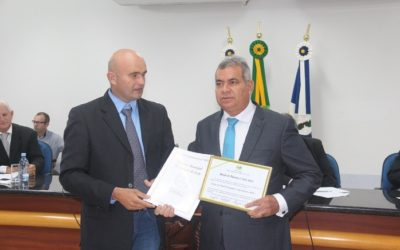 Meridian Honoured by Espigão do Oeste City Council